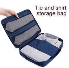 Tie n Shirts Storage Bag▶Multi-functional Travel Luggage Organizer Bag◀ GEA GBC- Suitable for business trip n Travel / Slim Shirt pouch/ Water proof material