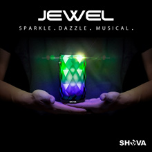 SHAVA JEWEL Night Light Portable Wireless Bluetooth Speaker with 6 Colour LED Light Themes