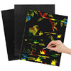 DIY Painting、Colorful scratch drawing paper、Children scratch drawing paper
