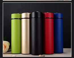 Stainless Steel 304 Thermal Flask Sport Baby Hot Water Bottle Tea Coffee Vacuum cup Christmas Gift