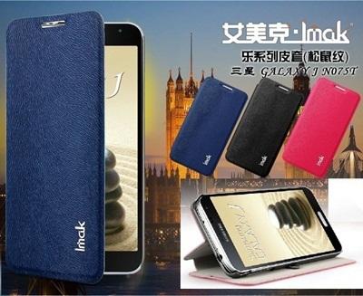 GALAXY J DOCOMO SC-02F/ 台湾 N075T [全3色] IMAK ハッピー シリーズフリップカバーケース [液晶保護フィルム付き] /IMAK Lok Series Flip Cover Caseの画像