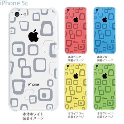 【iPhone5c】【iPhone5cケース】【iPhone5cカバー】【ケース】【カバー】【スマホケース】【クリアケース】【チェック・ボーダー・ドット】【トランスペアレンツ】【ラフボックス】 06-ip5c-ca0021hの画像