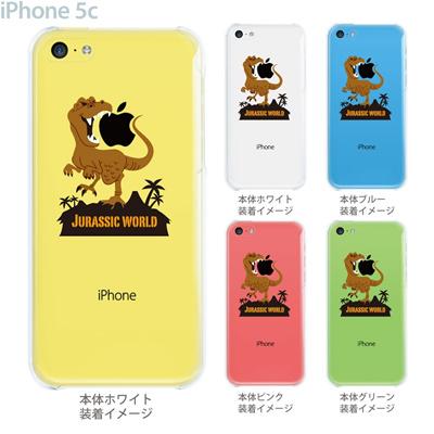 【iPhone5c】【iPhone5c ケース】【iPhone5c カバー】【ケース】【カバー】【スマホケース】【クリアケース】【クリアーアーツ】【MOVIE PARODY】【JURASSIC WORLD】 10-ip5c-ca0055の画像