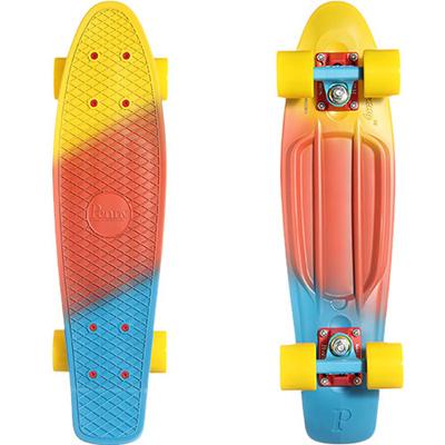 ◆即納◆ペニー(PENNY) 22インチ FADE SERIES フェードシリーズ コンプリート Canary PN00109 【スケートボード スケボー ミニスケート クルーザー】の画像