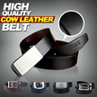 DEAL PRICE!!LIMITED!!now or never!!Men's Cow Leather Belt!/ Elegant Exquisite Belt/ Excellent quality and Lowest price!/3 color options/ smooth and durable belt【M18】[FEGER]