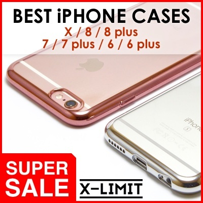 *BEST CASES* iPhone X / 8 / 8+ / 7 / 7+ / 6s / 6s+ Cases / Cover Deals for only S$10 instead of S$0