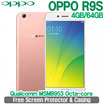 OPPO R9s 4GB/64GB 5.5 inches 3010 mAh Battery Qualcomm MSM8953 Octa-core