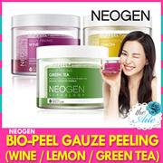 [NEOGEN]Bio-peel gauze peeling/wine/lemon/green tea/get it beauty/100% pure cotton