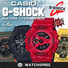 *CASIO GENUINE* CASIO G-SHOCK GA100/GA110 Series! NEW MODELS! Free Reg. Shipping and 1 Year Warranty