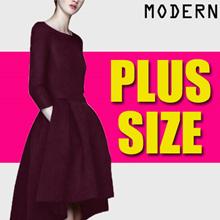 【Sep 26th】600+ style S-7XL NEW PLUS SIZE FASHION LADY DRESS OL work dress blouse TOP