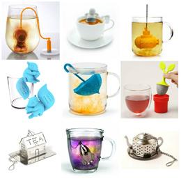 Tea Infuser / Tea Leaf / Tea Leaf Strainer / Flower Tea / Silicon / Loose Herbal / Christmas Gift / Submarine / Cute Design / Umbrella / SG Seller