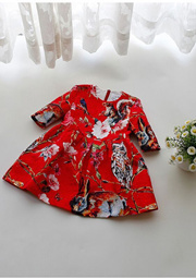 NEW ARRIVAL!!!GIRL DRESS!!PREMIUM QUALITY!!PRETTY!!FLORAL!!PARTY DRESS!! FASIONABLE