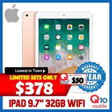 [▼20% 2018 Version] Brand NEW Apple iPad 9.7inch 2018 // 32GB ROM // Wi-Fi Version / iOS 11