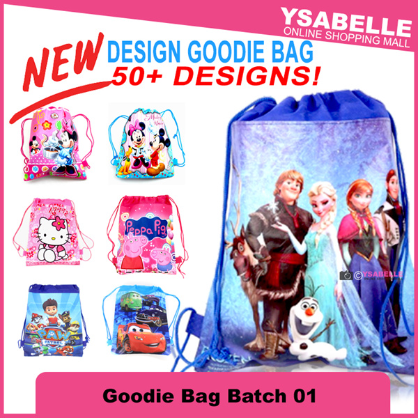Goodies Bag Disney Set Loot Bag Party Bag Party Theme Supplies Deals for only S$1.2 instead of S$0