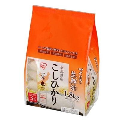 お米 新潟県産 コシヒカリ 1.8kg (一等米100%)の画像