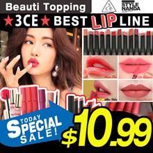 Qoo10 Lowest Price★NEW★3CE★BEST LIP LINE/VELVET LIP TINT/Slim velvet/Soft lip[Beauti Topping]