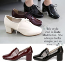 [Petitje new products] enamel Oxford reduction / loafers / flat shoes / high quality shoes / pumps loafers