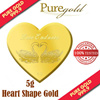 5g Love Endures Heart Shape Gold Coin / 999.9 Pure Gold / Singapore Made Gold Coin / Premium Gifts / Collections / Souvenirs