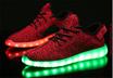 ★New 4 Colors Luminous Shoes Unisex Led Glow Shoe Men  Women Fashion USB Rechargeable Light Led Shoes for Adults Led Shoes