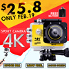 ◎SJ9000 4K WiFi sports camera underwater camera waterproof diving wide-angle 3D aerial camera