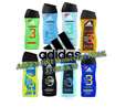 HAPPY MARCHIE SALES!! **3 FOR $8.50**Addidas Men 3in1 Shower Gel(250ML) Active Start/After Sport/ETC