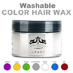 ★CHEAPEST★Japan★ Colour Hair Wax★Silver Ash★Gold★Blue★White★Purple★Most Stylish Hair Colour Wax★ No Damaged hair★ Washable Hair Dye Wax★ Temporary Colourful Hair Wax★ Singapore★Color hair wax★Shampoo★