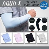 [ NEW ITEM ] QUINCY LABEL 1 pair Cooling Athletic Sport Skins Arm Sleeves Sun Protective UV Cover Golf