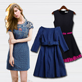 ✈Korean Style✈ Denim Dress S~XL ☁ Premium Quality ☁