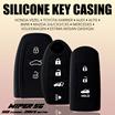 Silicone Car key Casing - Honda Vezel / Toyota Harrier / Altis / Sienta / Estima / Nissan Qashqai / Mazda 3/6/CX3/CX5 / Mercedes / BMW / Volkswagen / Audi / Mitsubishi