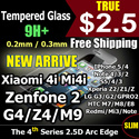 Cmei Tempered Glass Screen Protector Iphone 6/Plus/5/5S/5C/4S S3/4/5 Note 4/3/2 Xiaomi Redmi Mi4i/2/Note LG G4/G2/G3/G Pro/Nexus 5 Sony Xperia Z/Z1/Z2/Z3/Z4 HTC M9/M8/E8 Zenfone 5/6 OnePlus Privacy