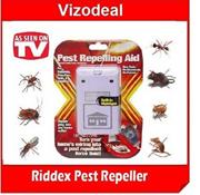 Riddex Plus Digital Pest Repeller LED NightLight insect Aid mosquito