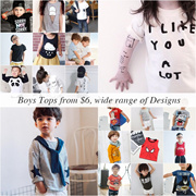 ❤ 28/8 ❤SALE 0-12Y / Made in Korea Stars Shirts / US fashion kids clothes
