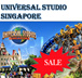 [June Holiday Sale!]Universal Studio Singapore Ticket USS One day Pass 新加坡环球影城/No pick up required/Best Price Guaranteed! / RESORTS WORLD SENTOSA