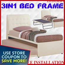 [LIVINGMALL-19006] *3-IN-1 BED FRAME* LIMITED OFFER AND LOWEST PRICE!!!