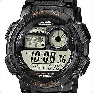海外CASIO 海外カシオ 腕時計 AE-1000W-1A メンズ スポーツウォッチ☆新作腕時計入荷☆新品!未使用品!の画像