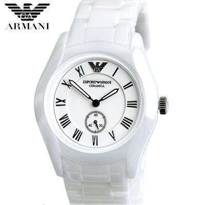 【クリックで詳細表示】EMPORIO ARMANI エンポリオ アルマーニ AR1405 腕時計 ユニセックス セラミック 新品 超特価 時計 送料無料 正規輸入品