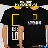 T-SHIRT PENJELAJAH PETUALANG NATIONAL GEOGRAPHIC *BEST PRICE*BEST QUALITY| ALL SIZE