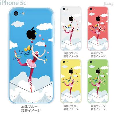 【iPhone5c】【iPhone5cケース】【iPhone5cカバー】【iPhone ケース】【クリア カバー】【スマホケース】【クリアケース】【イラスト】【クリアーアーツ】【サーカス】 01-ip5c-zec066の画像