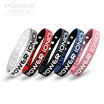 New Power Ionics Limited Edition Titanium Ge 2000Ions/cc Sports Golf Fitness Wristband Bracelet-The 2rd 50% Off
