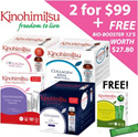 Kinohimitsu [BUY 2 AT $99] [Collagen Men/Collagen Diamond/Collagen Diamond Nite/Prowhite] FREE Bio-Booster worth S$27.80 {Anti-Ageing/Whitening/Brightening}