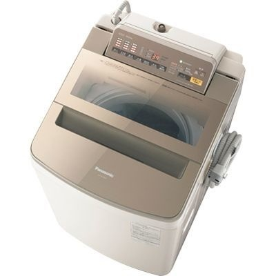 【クリックで詳細表示】パナソニック 10kg 全自動洗濯機 乾燥2㎏ NA-FA100H3-T