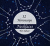 925 Silver 12 Horoscope/ Zodiac Constellations Necklace/Lovelist