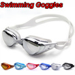 Summer Swimming Accessories Anti-fog anti-ultraviolet swimming goggles men and women unisex coating swimming glasses adult goggles