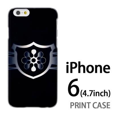 iPhone6 (4.7インチ) 用『No3 緑のエンブレム』特殊印刷ケース【 iphone6 iphone アイフォン アイフォン6 au docomo softbank Apple ケース プリント カバー スマホケース スマホカバー 】の画像