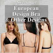 *Slimest Bra restocked*[SweetangelShop] European Designed Bra **Lace Bra/Sexy Bra**8mm Slim Bra**Causal Sexy Stylish Lace Bra Lingerie suitable for all occasions and tops / dress / tank top