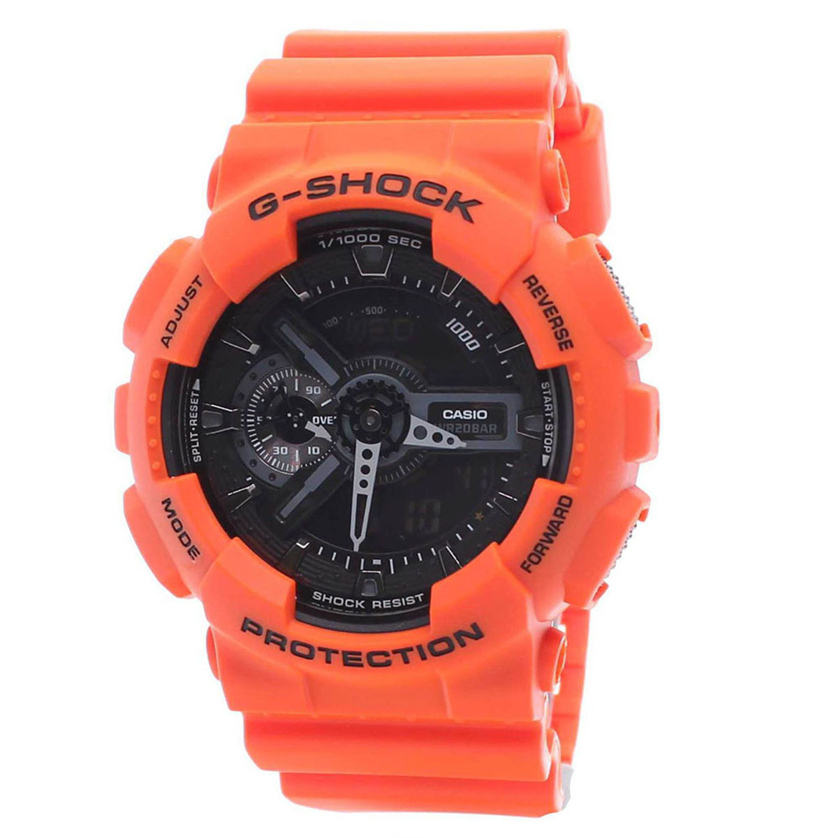 【クリックで詳細表示】CASIOCasio Mens G SHOCK RESCUE ORANGE SERIES Watch BNIB + Warranty GA-110MR-4A