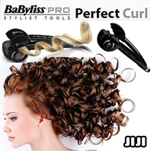 ◣QUALITY GUARANTEED◥ 100% Authentic* Hair Curl Pro Curling * Babyliss Miracurl Curler Iron -HOTTEST IN KOREA * Auto Volume Magic * Rotating Beauty Style Hair Curler - [JIJI]