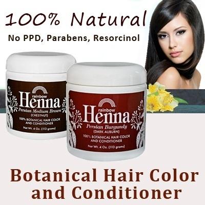 Qoo10  100 Natural Hair Coloring Rainbow Henna