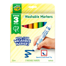 My First Crayola Washable Markers (8 count)