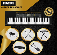 [Local Authorised Seller] Casio CTK-2500 Standard Keyboard | 61 Piano-Style Keys
